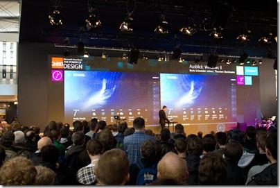 Microsoft Bühne - Windows 8