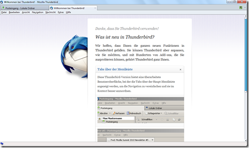 Mozilla Thunderbird 1
