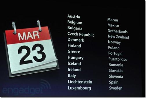 The new iPad - Veröffentlichung