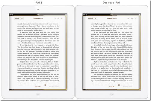 The new iPad - Retina